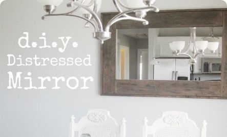 11 Cool DIY Mirror Ideas