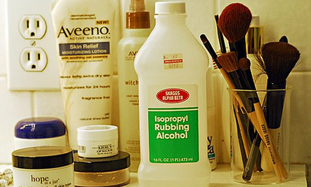 Household Uses for Rubbing Alcohol