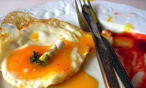 Eggs vs. Cigarettes in Atherosclerosis