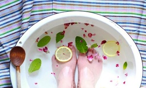 A Refreshing Treatment for Tired Feet