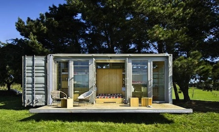 House Made From Shipping Container a house made from a shipping container | care2 healthy living