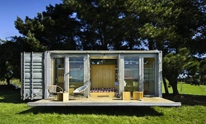 A House Made from a Shipping Container