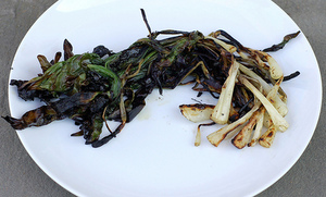 Grilled Wild Ramps - Simple, Easy & Spectacular