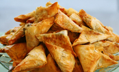 Greek Cheese Triangle Appetizer (Recipe)