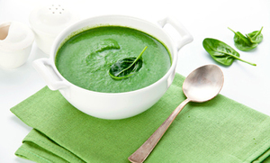 Creamy Spinach & Broccoli Soup (Recipe)