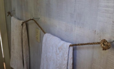 A DIY Towel Bar for Less Than $10
