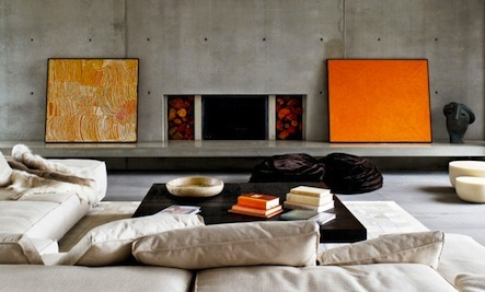 6 Interiors with Bursts of Orange