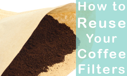 14 Ways To Reuse Coffee Filters Care2 Healthy Living