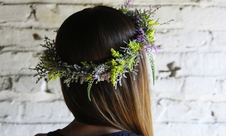 How to Make Your Own Whimsical Flower Crown