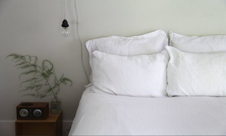 A DIY Light Bed Covering for Hot Summer Nights