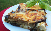 Roasted Veggie Pesto Lasagna