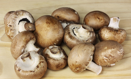 Mushrooms with Red Wine and Thyme (Recipe)