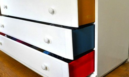 Steal This Look: Painted Drawer Sides & Interiors