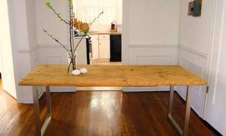 A DIY Dining Table For Less Than $125