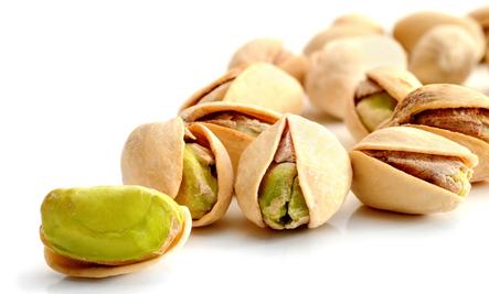 Sexual health benefits of pistachios