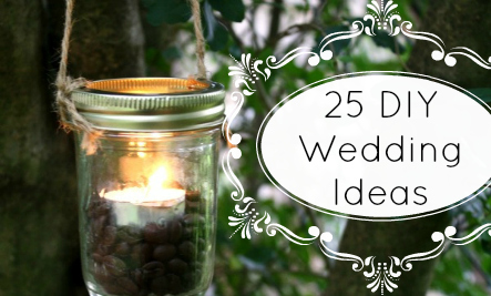 25 DIY Wedding Ideas from Reclaimed and Eco-Friendly Materials