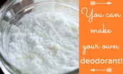 A 2-Ingredient Deodorant Recipe That WORKS!