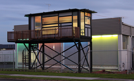 Homes Made from Old Cargo Containers (Infographic)
