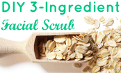 3-Ingredient Homemade Facial Scrub Recipe