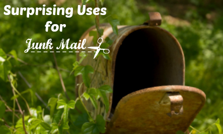 23 Surprising Uses for Junk Mail