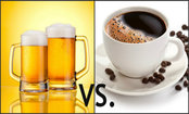 Beer or Coffee: Which One Should You Drink? [Infographic]