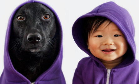 This Dog and Baby Are Twins. No, Really