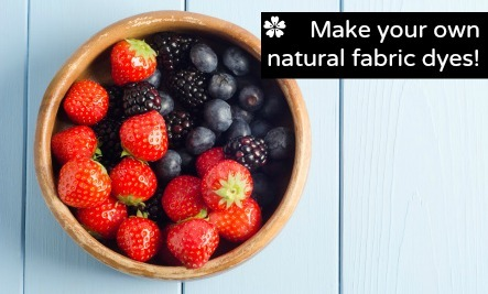 DIY Natural Fabric Dyes For Every Color