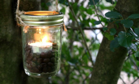 DIY Mason Jar Lantern in 3 Steps (No Power Tools Needed!)