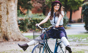 The Simple Secret to Biking in a Skirt
