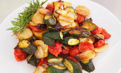 Roasted Rosemary Savory Vegetables