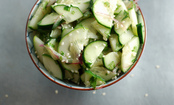 Quick & Cooling Asian-Inspired Cucumber Salad