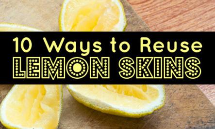 10 Creative Lemon Peel Uses