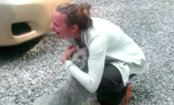 Dog Faints from Excitement & Love Toward Owner (Video)
