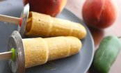 Peach Popsicles with (or without!) Jalape�o