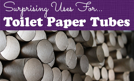 15 Surprising Uses for Toilet Paper Tubes