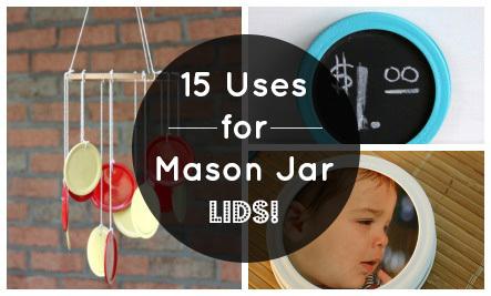 15 Mason Jar Lid Crafts Care2 Healthy Living