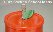 10 Back to School Crafts for the End of Summer