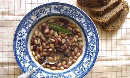 Simple Heirloom Beans