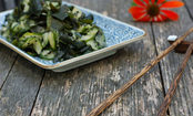 Cucumber Seaweed Salad with Sesame Dressing