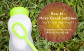 DIY Bubbles Recipe (No Dawn Required!)