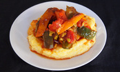 Polenta with Sweet Peppers
