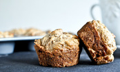Apple Cinnamon Whole Wheat Muffins