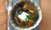 Butternut Squash and Heirloom Bean Chili