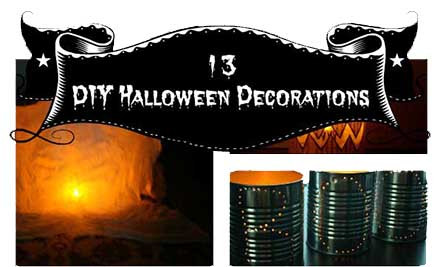 13 handmade halloween decoration ideas