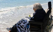 100-Year-Old Tennessee Woman Sees Ocean for First Time