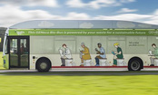 Poop Bus Powered By Human Waste Hits The Road