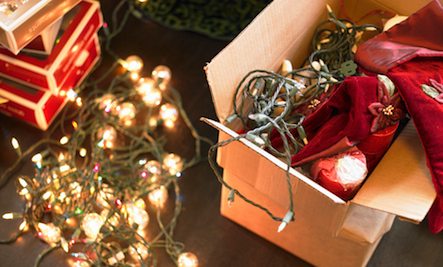 how to recycle your old holiday lights
