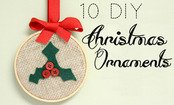 10 Last-Minute Christmas Ornaments to Make