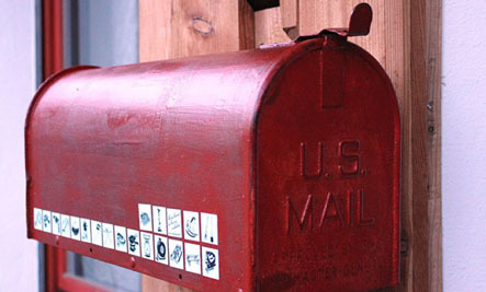 These Mailbox Stickers Help You Borrow Stuff You Need