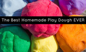 The Best Homemade Play Dough EVER